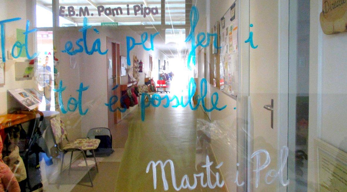 EBM Pam i Pipa, escola bressol municipal de Badalona