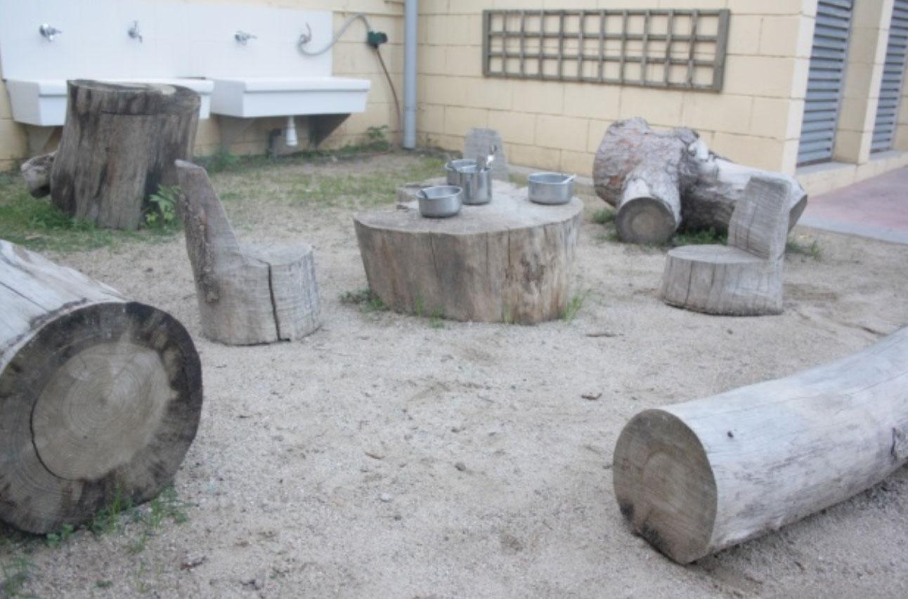 De pati a jardí a les escoles bressol municipals Cavall de Cartró 2