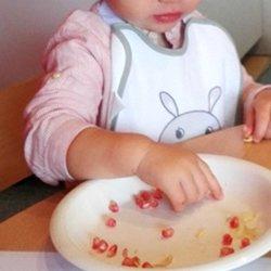 Esmorzar saludable per als nadons a Cavall de Cartró