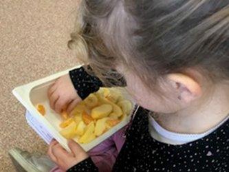 Fruites a escola bressol Petita Estelada de Cànoves i Samalús