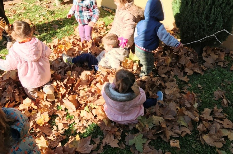 Tardor a jardí escola bressol Montflorit de Cerdanyola 4