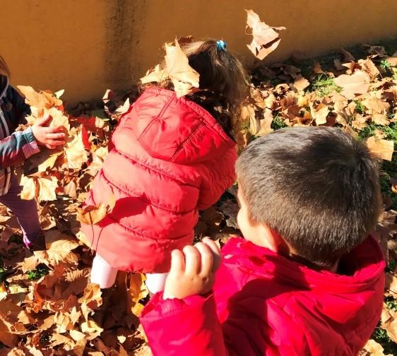 Tardor a jardí escola bressol Montflorit de Cerdanyola 8