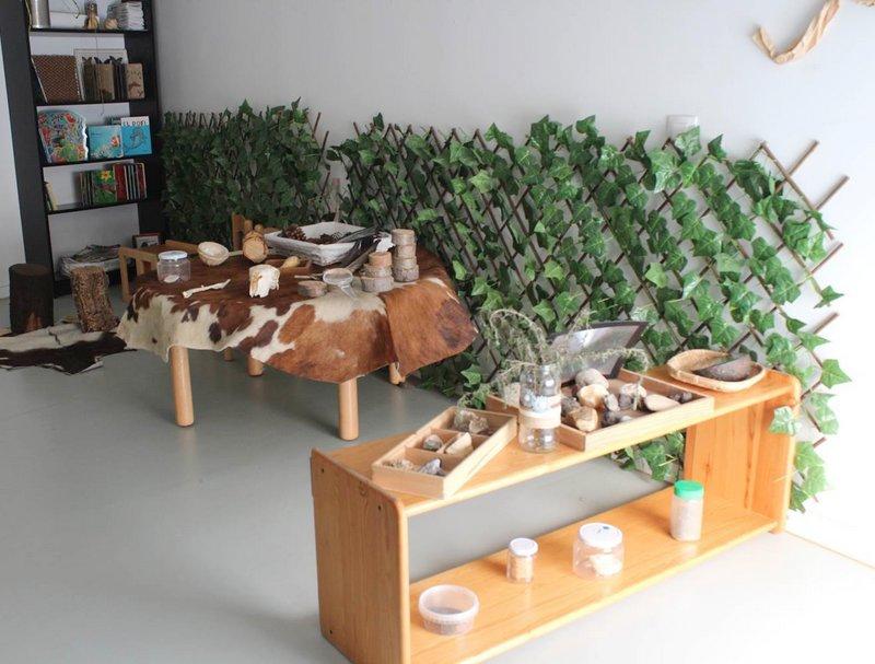 Aula espai de ciència Escola bressol Virolet Badalona