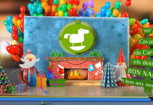 Feliz Año 2019 escuelas infantiles Cavall de Cartró