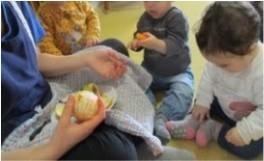 Tastet de fruites a escoles bressol